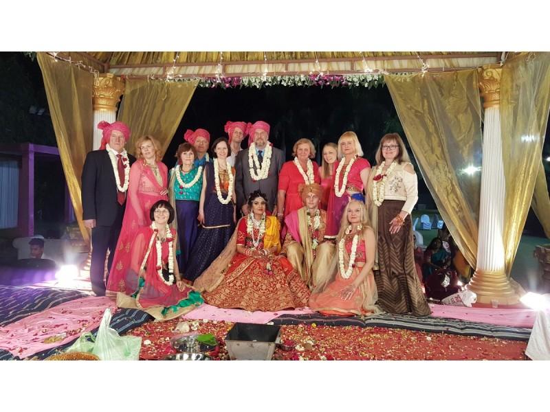 Indiškose vestuvėse skambėjo ir Lietuvos himnas