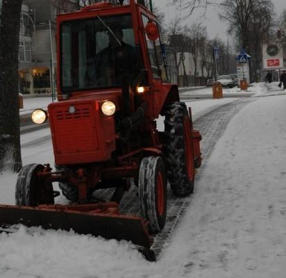 Ankstyva žiema komunalininkų neišgąsdino, bet nerimo kelia