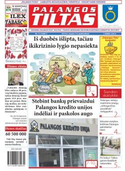 Palangos tilto laikraštis, Data: 2014-02-06, Numeris: 11(1249)