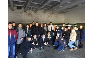 Gimnazistai lankėsi miesto policijos komisariate