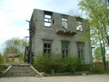 Medinė Kurhauzo dalis 2008 m. I. Kačinskaitės nuotr.