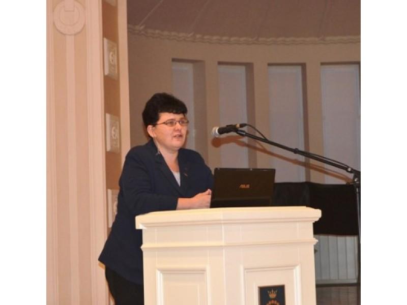 Kultūros paveldo departamento prie Kultūros ministerijos direktorė Diana Varnaitė.