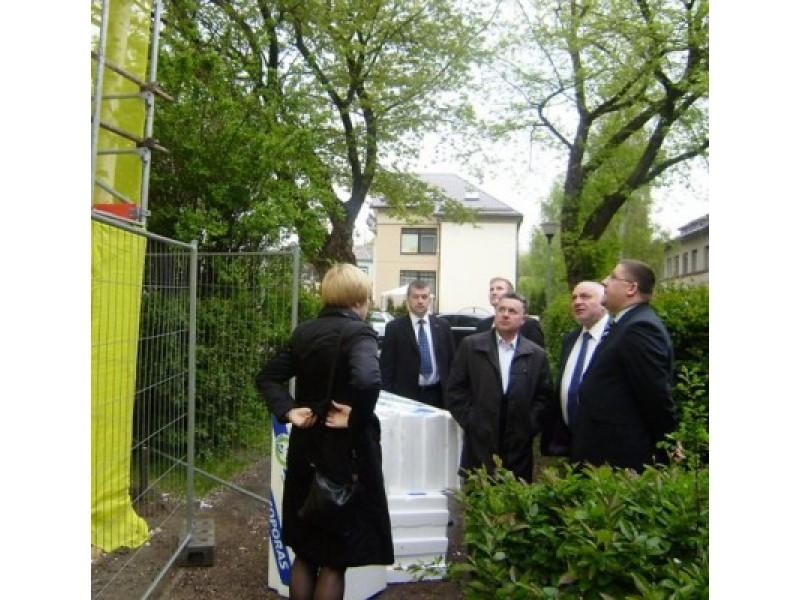 Daugiabučių renovacijai Palangoje – aplinkos ministro V. Mazuronio įvertinimas