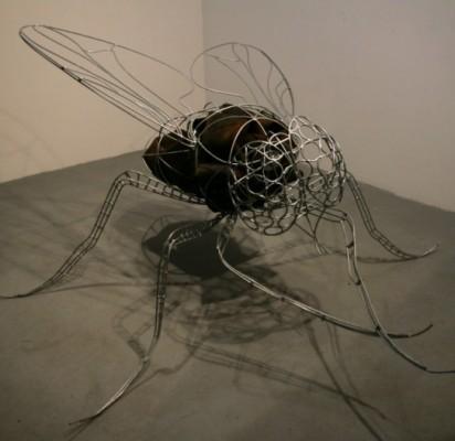 Skulptoriaus A. Kasparavičiaus paroda A. Mončio namuose-muziejuje veiks iki gruodžio vidurio. Parodos rengėjų nuotr.