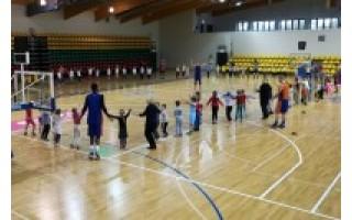Palangoje praūžė vaikų krepšinio šventė