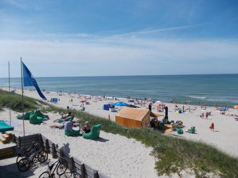 Mėlynosios vėliavos Palangos paplūdimiams