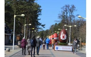 Palanga kviečia Šv. Velykas švęsti pajūryje: pasitiks Margučių alėja bei įspūdingas margučių ridenimo takas