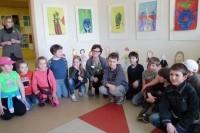 """Mažieji dailininkai parengė """"Dovaną Palangai"""""""