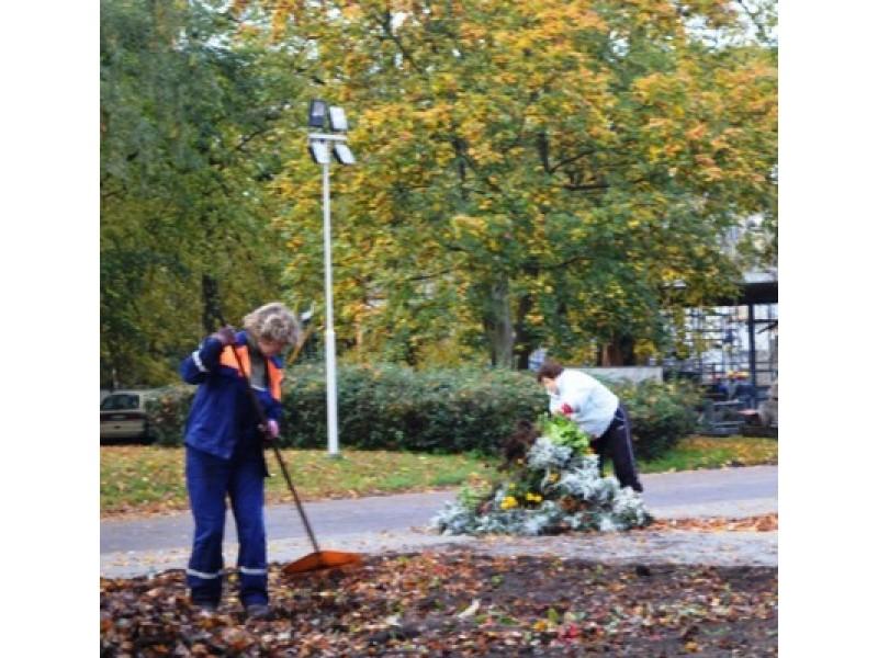 Įpusėjęs ruduo – darbymetis Palangos komunalininkams