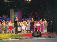 """Koncerte """"Aš tikrai myliu Lietuvą"""" dalyvavo 300 atlikėjų."""