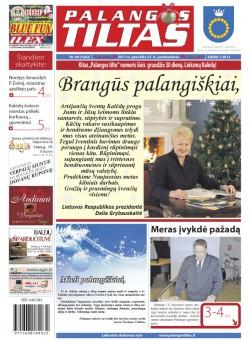 Palangos tilto laikraštis, Data: 2011-12-23, Numeris: 98 (1042)