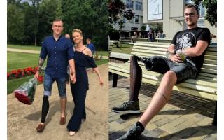 Kojos netekusio palangiškio stiprybė įkvepia: po tėčio mirties – pergalinga kova su vėžiu