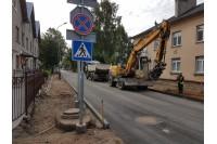 Pusė Kastyčio gatvės rekonstrukcijos darbų – jau atlikta