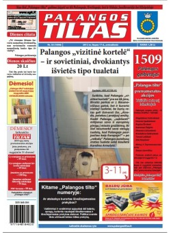 Palangos tilto laikraštis, Data: 2012-07-16, Numeris: 53 (1096)