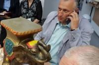 Cirkas su drambliu atkeliavo į Palangą ir į jos Tarybą (ŽIŪRĖKITE VIDEO)