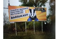 Barsukas išgąsdino Palangos valdžią – uždraudė dar kuriamo filmo reklamą
