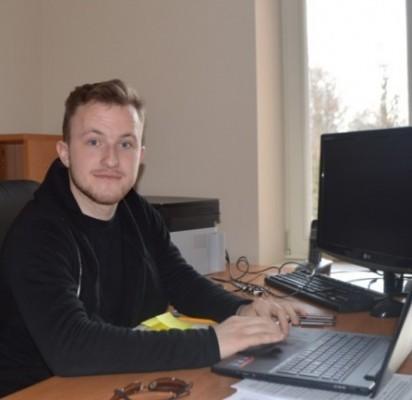 Tautvydas Lubys – Palangos jaunimo studijos vadovas.