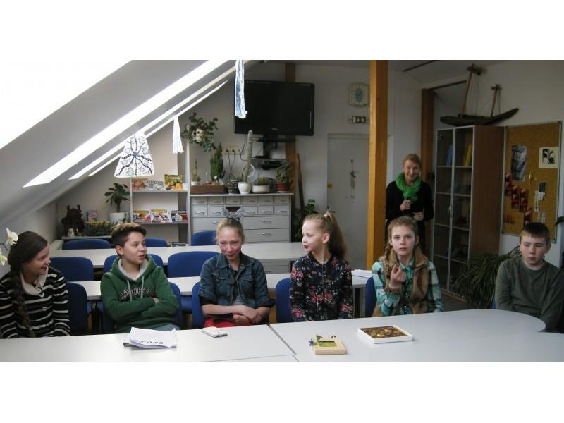 Knygnešio diena Šventosios pagrindinėje mokykloje