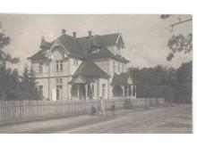 """Vila """"Jūros akis"""". Nuotrauka iš Palangos viešosios bibliotekos kraštotyros skyriaus."""