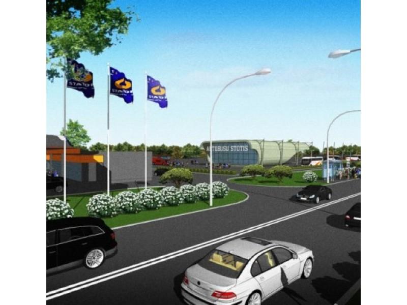 """Subliuško """"Rimi Lietuva"""" siekis prokurorų rankomis sustabdyti autobusų stoties statybas"""