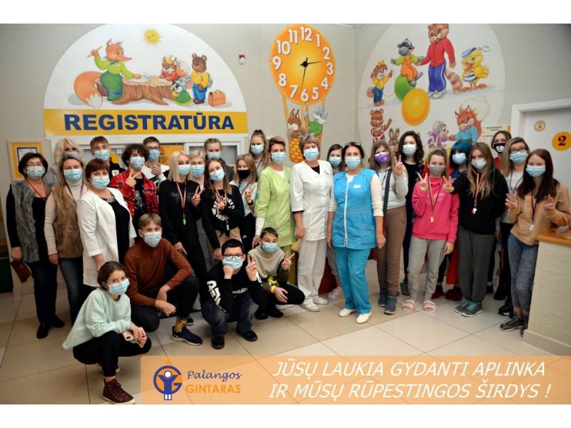 """Nuo kovo 1-osios vaikų sanatorija """"Palangos gintaras"""" pilna apimtimi atnaujino  ambulatorinių reabilitacinių paslaugų teikimą (FOTO GALERIJA)"""