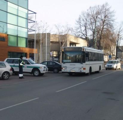 """Į alkotesterį """"pūtė"""" ir miesto maršruto """"Palanga – Šventoji"""" autobuso vairuotojas."""