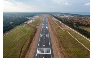 Palangos oro uostas bus atidarytas kitą savaitę: prasidėjo testavimo darbai