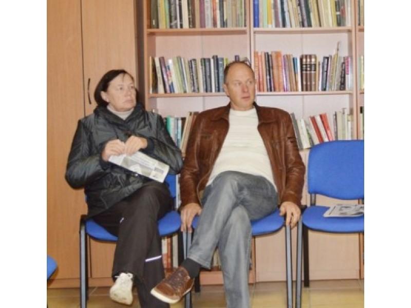 I. Švanienė ir  R. Juška pasidalijo mintimis apie Palangos sportinį gyvenimą.
