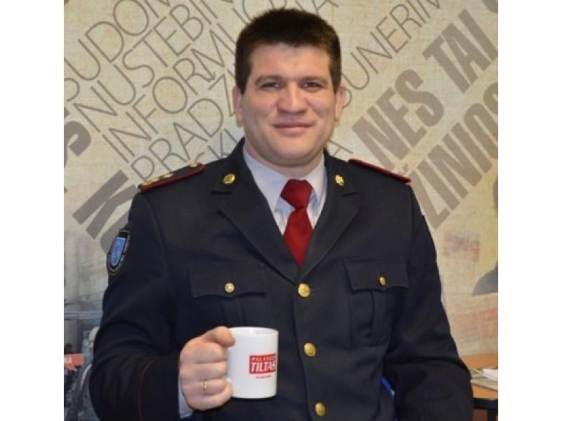 Palangos priešgaisrinės gelbėjimo tarnybos viršininkas Vidmantas Jarulis