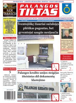 Palangos tilto laikraštis, Data: 2014-01-23, Numeris: 7(1245)