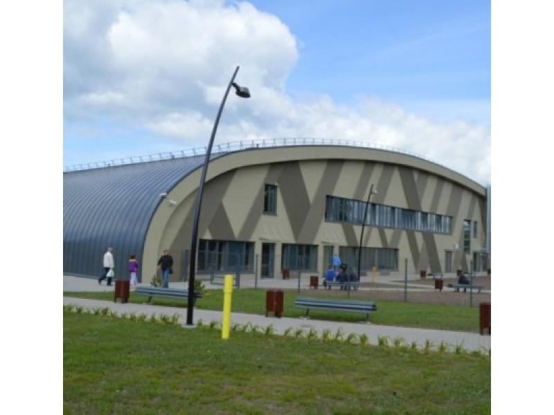 Bendradarbiavimo tarp Palangos ir Svetlogorsko dėka balandį atidaryta universalioji sporto arena mūsų mieste.