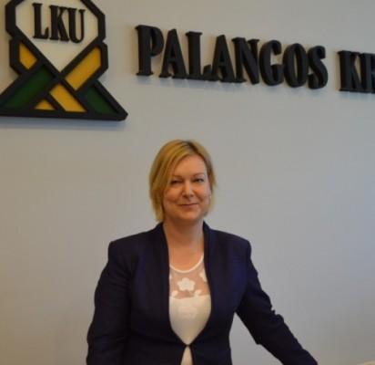 PKU valdybos pirmininkė ir unijos administracijos vadovė Sandra Garjonytė.