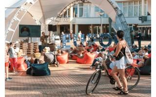 Šeštadienį Palangos poilsiautojai aiškinosi, kaip kasdienius įpročius paversti tvariais (FOTO GALERIJA)