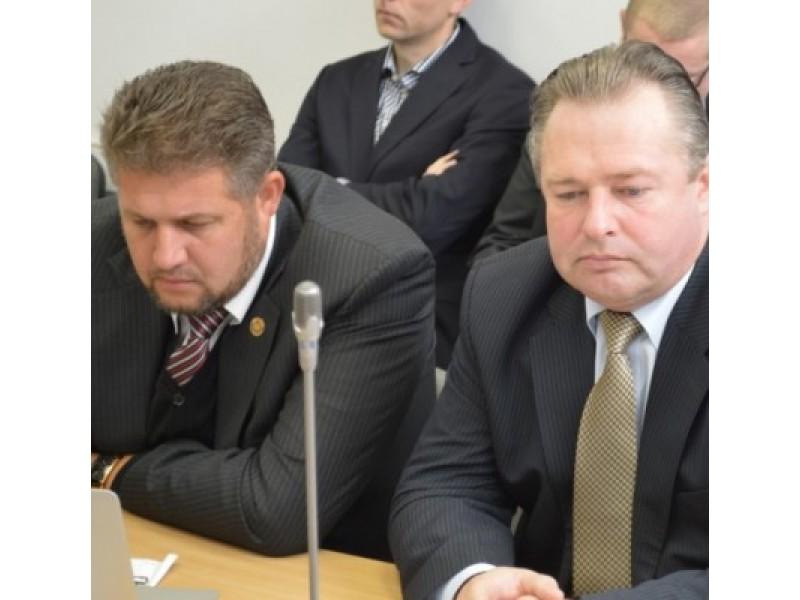 Praėjusį ketvirtadienį, per Tarybos posėdį, V. Šimaitis buvo oficialiai paskelbtas TS-LKD frakcijos nariu.