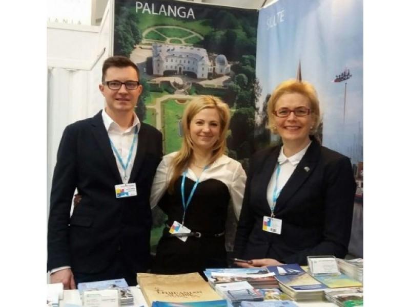 Palanga pristatyta didžiausioje Lenkijos tarptautinėje turizmo parodoje