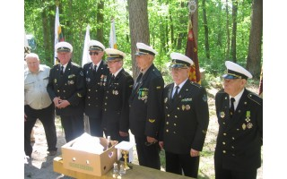 Palangos šauliai dalyvavo iškilmėse Šarkiškių miške