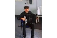 Palangos jaunasis talentas Mantas Leonardas Lizzi vienoje scenoje su Valstybiniu Vilniaus kvartetu