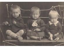 Stropaus vaikai Algirdas, Milda, Genutė.