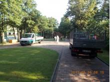 Trečiadienį, 8.15 val. Viešosios tvarkos skyriaus specialistai užfiksavo tuščius komunalininkų sunkvežimius.