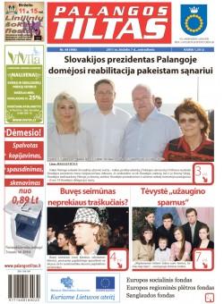 Palangos tilto laikraštis, Data: 2011-06-06, Numeris: 44 (988)