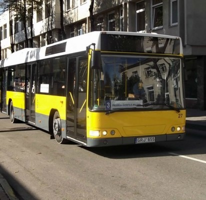 Iš naujos autobusų stoties kas dvidešimt minučių į miesto centrą kursuos autobusai