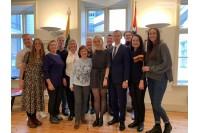 Palangos,,Grubusis'' teatras lietuvių bendruomenėms Osle ir Dramene pristatė spektaklį ,,Laikykis, Vydūne!''