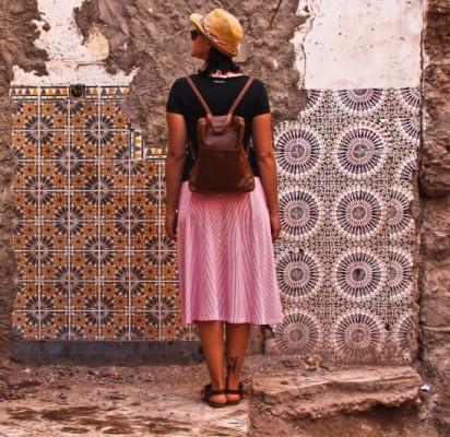 Senojo Marakešo keramika - byranti, bet vis dar matoma