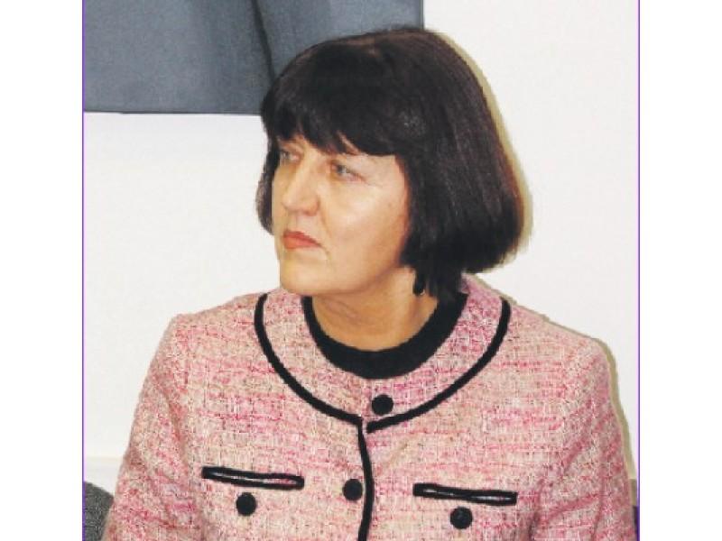 Biudžeto skyriaus vedėja Regina Garadauskienė.
