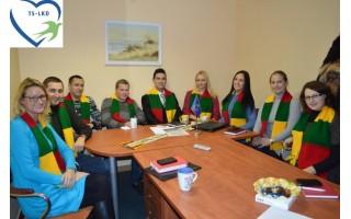 Sausio 13-ąją sušildys TS-LKD Palangos jaunimo dovanojamos neužmirštuolės
