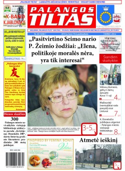 Palangos tilto laikraštis, Data: 2014-03-13, Numeris: 20(1258)