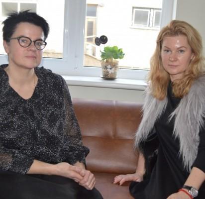 Palangos socialinių paslaugų centro direktorė Daiva Dekontaitė ir jos pavaduotoja socialiniams reikalams Sandra Jackaitė papasakojo apie Centro veiklą.