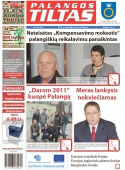 Palangos tilto laikraštis, Data: 2011-04-19, Numeris: 30 (974)