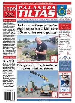 Palangos tilto laikraštis, Data: 2019-06-28, Numeris: 25 (1700)