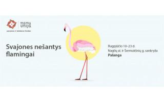 Palangoje svečius pasitiks vaikų svajones nešantys flamingai